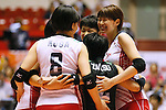 Japan Women's team group (JPN), AUGUST 26, 2015 - Volleyball : FIVB Women's World Cup 2015 1st Round between Japan 3-0 Kenya  in Tokyo, Japan. (Photo by Sho Tamura/AFLO SPORT)