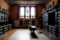 CROATIA, Zadar, old town, church and monastery of holy St. Francis / KROATIEN, Zadar, Franziskaner Kirche und Kloster des heiligen Franziskus von 1223, Sakristei