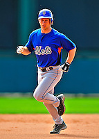 17 March 2009: New York Mets' infielder Andy Green warms up prior to a Spring Training game against the Atlanta Braves at Disney's Wide World of Sports in Orlando, Florida. The Braves defeated the Mets 5-1 in the Grapefruit League matchup. Mandatory Photo Credit: Ed Wolfstein Photo