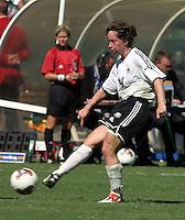 Maren Meinert, Germany 2-1 over Sweden at the  WWC 2003 Championships.