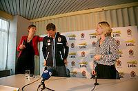 21-01-14,Netherlands, Almere,  Centerpoint, Press-conference Daviscup, ,   Daviscup Captain Jan Siemerink<br /> Photo: Henk Koster