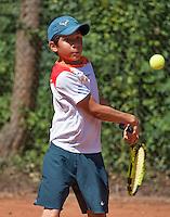 Hilversum, Netherlands, August 8, 2016, National Junior Championships, NJK, Alfrendo Vogelaar (NED)<br /> Photo: Tennisimages/Henk Koster