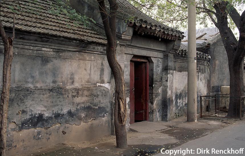 China, Peking, Hutong