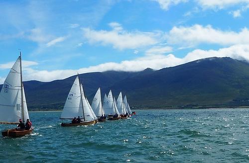 A Mermaid race start in Tralee Bay