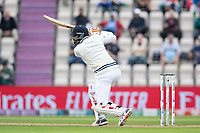 Ravindra Jadeja, India drives through cover point during India vs New Zealand, ICC World Test Championship Final Cricket at The Hampshire Bowl on 20th June 2021