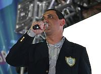 SAO PAULO, SP, 09 DE DEZEMBRO DE 2011, Paulo Sergio, Presidente da Liga das Escolas de Samba, no LANÇAMENTO DO CD DA LIGA DAS ESCOLAS DE SAMBA 2012 na quadra da Escola de Samba Rosas de Ouro, zona norte de SP.  (FOTO: MILENE CARDOSO / NEWS FREE)