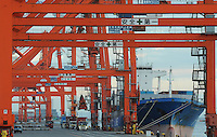 "As ship dock at Tokyo Bay Dockyard on Odaiba Island, Tokyo, Japan. Words in English means 'safety comes first"" can seen in Dockyard. Japan has seen a decrease in exports due to the value of the Yen which has made imported goods much cheaper in the recession hit country, the world's third largest economy..23 Nov 2010"