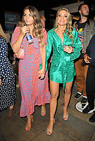 """Charlotte Jackson and friend at the """"Back to the Future The Musical"""" press night, Adelphi Theatre, The Strand, on Monday 13th September 2021 in Londomn, England, UK. <br /> CAP/CAN<br /> ©CAN/Capital Pictures"""