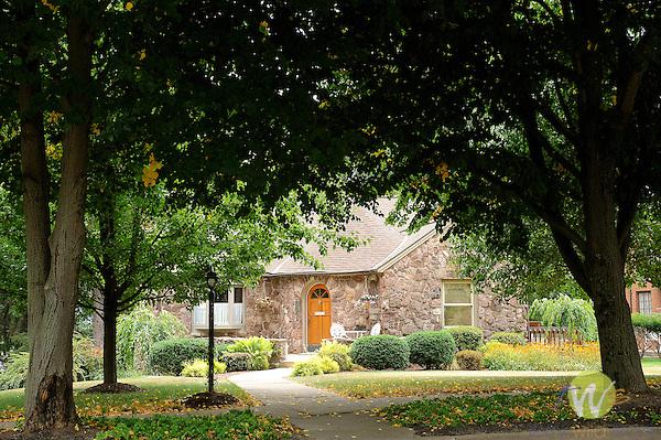 Stone bungalow on Grampian Boulevard.