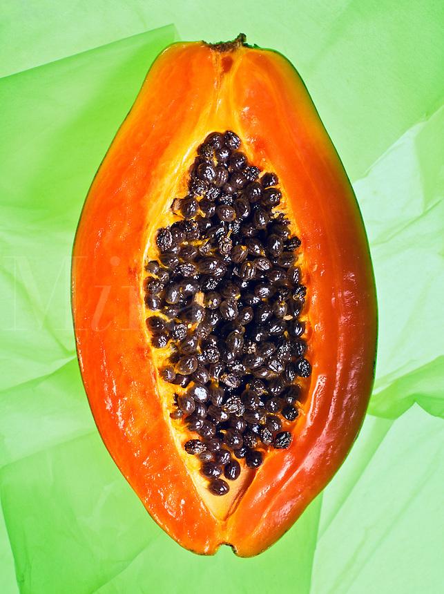Papaya fruit.