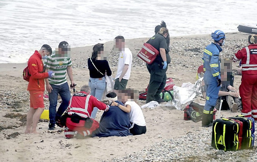 Five People Get into Difficulty at Ballycastle Beach