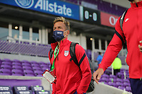 ORLANDO CITY, FL - JANUARY 31: Jason Kreis assistant coach of the USMNT before a game between Trinidad and Tobago and USMNT at Exploria stadium on January 31, 2021 in Orlando City, Florida.