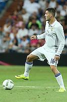 Real Madrid's Kovacic during the XXXVII Bernabeu trophy between Real Madrid and Stade de Reims at the Santiago Bernabeu Stadium. August 15, 2016. (ALTERPHOTOS/Rodrigo Jimenez) /NORTEPHOTO