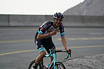 Kevin Colleoni (ITA) Team BikeExchange climbs the final 4km of Jais Mountain during Stage 5 of the 2021 UAE Tour running 170km from Fujairah to Jebel Jais, Ras Al Khaimah, UAE. 25th February 2021.  <br /> Picture: Eoin Clarke   Cyclefile<br /> <br /> All photos usage must carry mandatory copyright credit (© Cyclefile   Eoin Clarke)