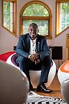 Architect Sam Oghale Oboh at his Edmonton home, on Friday, June 17, 2016.<br /> Photo credit - John Ulan