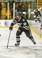 29 December 2014: Providence College Friar Forward Shane Luke, a Senior from Dauphin, Manitoba, in first period action against the University of Vermont Catamounts during the deciding game of the annual TD Bank-Sheraton Catamount Cup Tournament at Gutterson Fieldhouse in Burlington, Vermont. The Friars shut out the Catamounts 3-0 to win the 2014 Cup. Mandatory Credit: Ed Wolfstein Photo *** RAW (NEF) Image File Available ***29 December 2014: Providence College Friar Forward Shane Luke, a Senior from Dauphin, Manitoba, in first period action against the University of Vermont Catamounts during the deciding game of the annual TD Bank-Sheraton Catamount Cup Tournament at Gutterson Fieldhouse in Burlington, Vermont. The Friars shut out the Catamounts 3-0 to win the 2014 Cup. Mandatory Credit: Ed Wolfstein Photo *** RAW (NEF) Image File Available ***29 December 2014: Providence College Friar Forward Robbie Hennessey, a Freshman from Garnet Valley, PA, in first period action against the University of Vermont Catamounts during the deciding game of the annual TD Bank-Sheraton Catamount Cup Tournament at Gutterson Fieldhouse in Burlington, Vermont. The Friars shut out the Catamounts 3-0 to win the 2014 Cup. Mandatory Credit: Ed Wolfstein Photo *** RAW (NEF) Image File Available ***