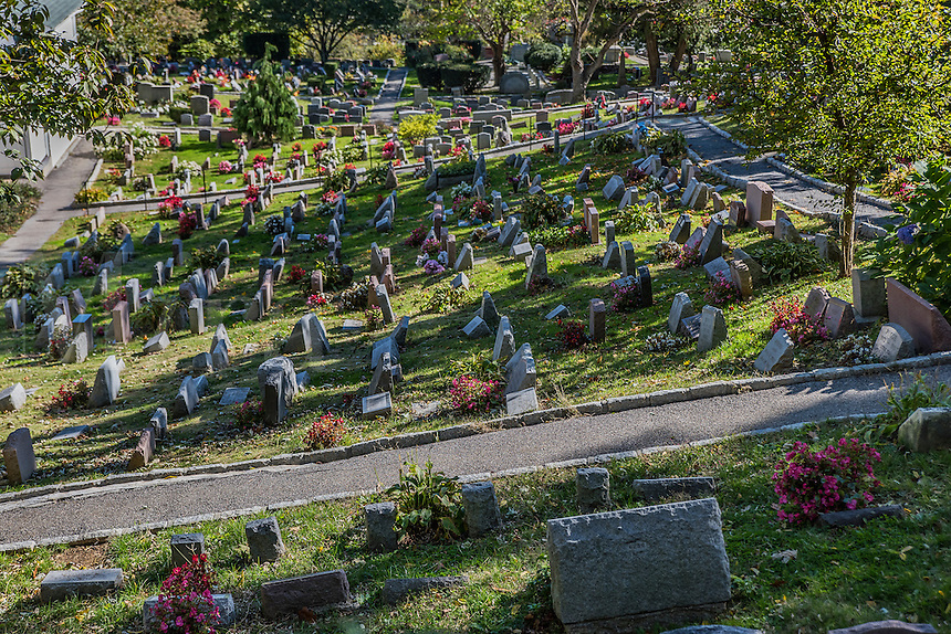 Hartsdale Pet Cemetery, Oldest operating pet cemetery in the world, Hartsdale, New York, USA