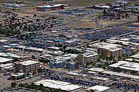aerial photograph of Sandia National Laboratories, Kirtland Airforce base, Albuquerque, New Mexico