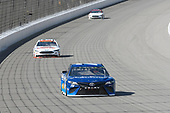 Monster Energy NASCAR Cup Series<br /> FireKeepers Casino 400<br /> Michigan International Speedway, Brooklyn, MI USA<br /> Sunday 18 June 2017<br /> Martin Truex Jr, Furniture Row Racing, Auto-Owners Insurance Toyota Camry, Matt DiBenedetto, GO FAS Racing, Keen Parts Ford Fusion, David Ragan, Front Row Motorsports, Shriners Hospitals for Children Ford Fusion<br /> World Copyright: Logan Whitton<br /> LAT Images