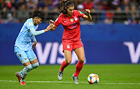Reims, France - Tuesday June  11, 2019: The women's national teams of the United States (USA) and Thailand (THA) pair up in a group play 2019 Women's World Cup match at Stade Auguste-Delaune.