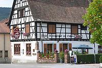au canon restaurant hotel andlau alsace france