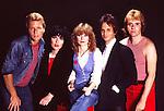 Heart 1982 Mark Andes Ann Wilson Nancy Wilson Danny Carmassi Howard Leese<br /> © Chris Walter