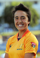 Maddy Chapman. Wellington Blaze headshots at Allied Nationwide Basin Reserve, Wellington on Thursday, 9 December 2010. Photo: Dave Lintott / lintottphoto.co.nz
