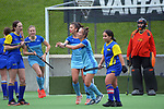 Northland v Bay Of Plenty. 2021 National Women's Under-18 Hockey Tournament day five at National Hockey Stadium in Wellington, New Zealand on Thursday, 15 July 2021. Photo: Dave Lintott / lintottphoto.co.nz https://bwmedia.photoshelter.com/gallery-collection/Under-18-Hockey-Nationals-2021/C0000T49v1kln8qk