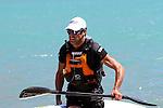 Richard Ussher. 2012 SI Surf Ski Championships: Tahunanui to Cable Bay.<br /> Photo: Marc Palmano/Shuttersport