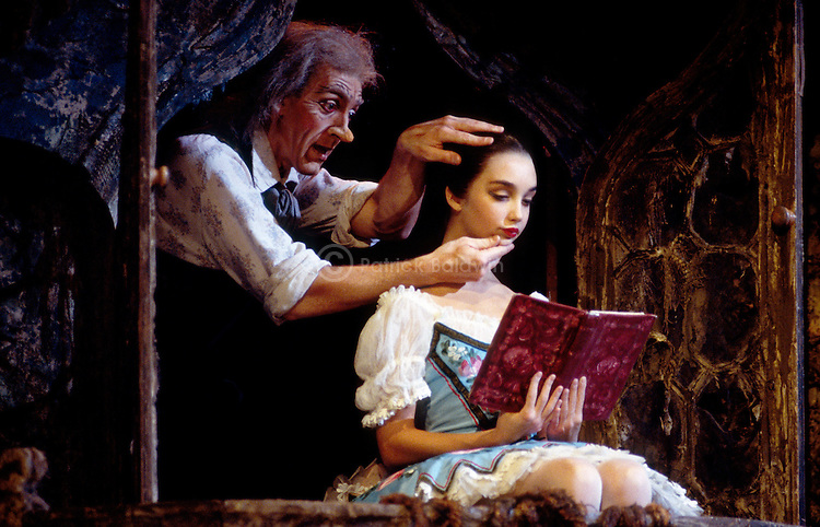 English National Ballet's production of Coppelia choreographed by Ronald Hynd