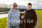 Anna Marie, Johnny and Mikey Lynch enjoying a stroll in Blennerville on Friday.