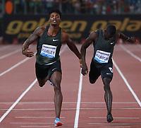 Fred Kerley USA 400m men winner  <br /> Roma 31-05-2018 Stadio Olimpico<br /> IAAF Diamond League Golden Gala <br /> Meeting Atletica Leggera - Track and Fields <br /> Foto Cesare Purini / Insidefoto
