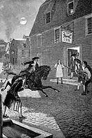 Paul Revere ride his horse