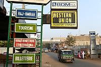 MALI, Bamako, Western Union money Transfer service