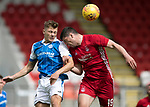 St Johnstone v Aberdeen…01.07.17  McDiarmid Park     Pre-Season Friendly <br />Callum Hendry and Scott McKenna<br />Picture by Graeme Hart.<br />Copyright Perthshire Picture Agency<br />Tel: 01738 623350  Mobile: 07990 594431