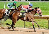 Royale Jacob winning at Delaware Park on 6/20/13