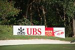 Branding during the 58th UBS Hong Kong Open as part of the European Tour on 07 December 2016, at the Hong Kong Golf Club, Fanling, Hong Kong, China. Photo by Marcio Rodrigo Machado / Power Sport Images