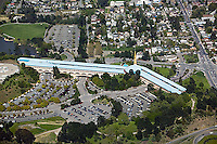 aerial photograph, Marin Civic Center,San Rafael, Marin County, California