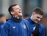 Lee McCulloch having a laugh