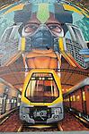 Street Art on May Lane, St Peters, NSW, Austalia