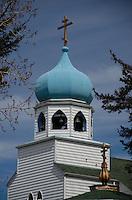 Holy Resurrection Church, Kodiak Island, Alaska, US