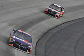 #11: Denny Hamlin, Joe Gibbs Racing, Toyota Camry FedEx Express, #20: Erik Jones, Joe Gibbs Racing, Toyota Camry Craftsman
