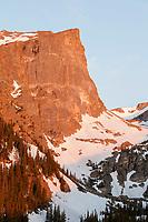 Hallett Peak at sunrise, Rocky Mountain National Park