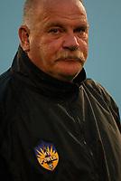 New York Power head coach Pat Farmer.