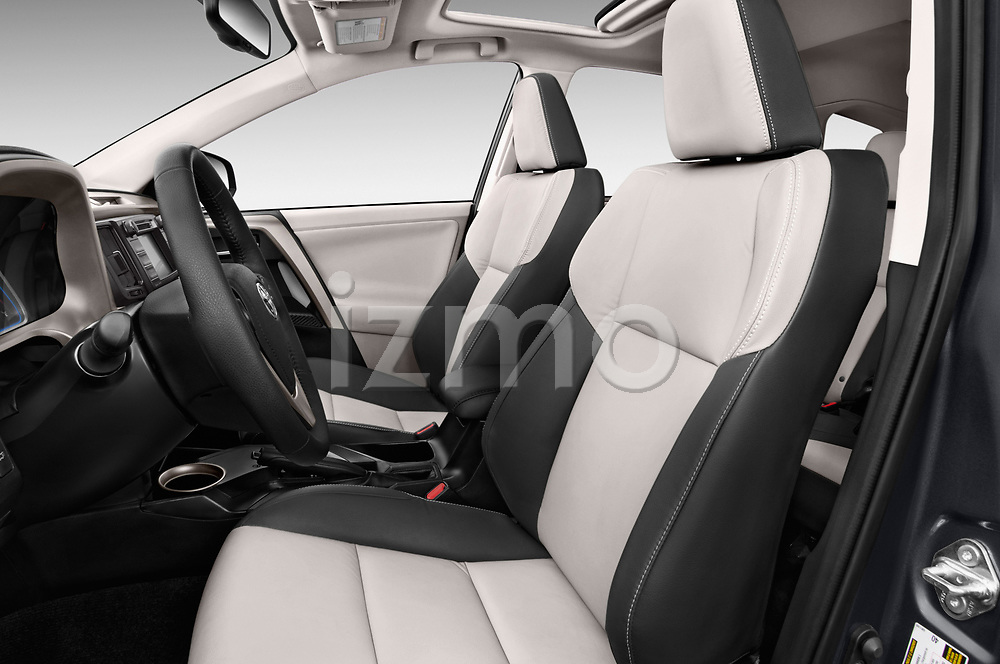 Front seat view of a 2013 Toyota rav4 limited Select Doors Door SUV front seat car photos