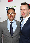 Don Lemon and Tim Malone attends the Point Foundation hosts Annual Point Honors New York Gala Celebrating The Accomplishments Of LGBTQ Students at The Plaza Hotel on April 9, 2018 in New York City.