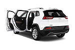 Car images close up view of a 2015 Jeep Cherokee Limited 5 Door SUV doors