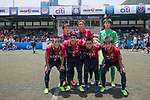 Leicester City (in white) vs Kashima Antlers (in red and black) during their Main Tournament match, part of the HKFC Citi Soccer Sevens 2017 on 27 May 2017 at the Hong Kong Football Club, Hong Kong, China. Photo by Chris Wong / Power Sport Images