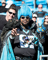 The Carolina Panthers played the San Francisco 49ers at Bank of America Stadium in Charlotte, NC in the NFC divisional playoffs on January 12, 2014.  The 49ers won 23-10.  Panthers fan.