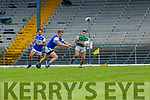 James O'Donoghuel Legion goes past Sean Walsh KOR  during their SFC clash in Fitzgerald Stadium on Sunday